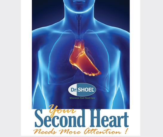 کفش طبی دکتر شول: قلب دوم شما نیاز به مراقبت بیشتری دارد.